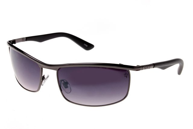 Ray Ban Active Lifestyle Solid RB3459 Purple Black Sunglasses