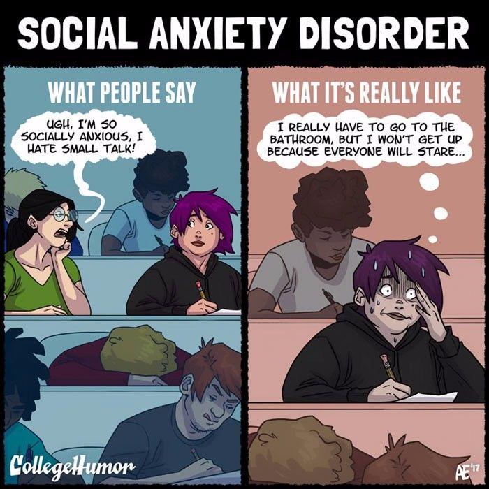 Fakty i mity na temat zaburzeń psychospołecznych w komiksach amerykańskiej ilustratorki.