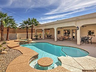 4BR Lake Havasu City House w/Private Heated Pool!