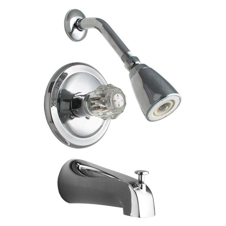 one piece shower faucet. LDR 011 7100 Tub  Shower Faucet Set The is an all in one shower kit that includes a chrome plated cast diverter Best 25 faucet sets ideas on Pinterest Oil rubbed bronze