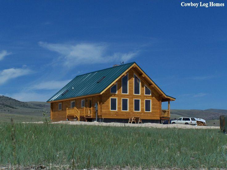 Small log home plans montana