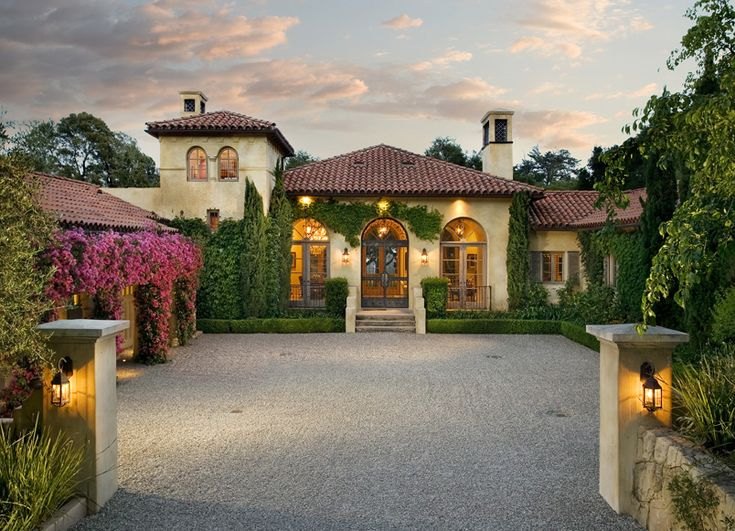 And Classy Mediterranean House Designs Home Design Lover: Through An Olive Grove You Arrive At This Elegant Tuscan
