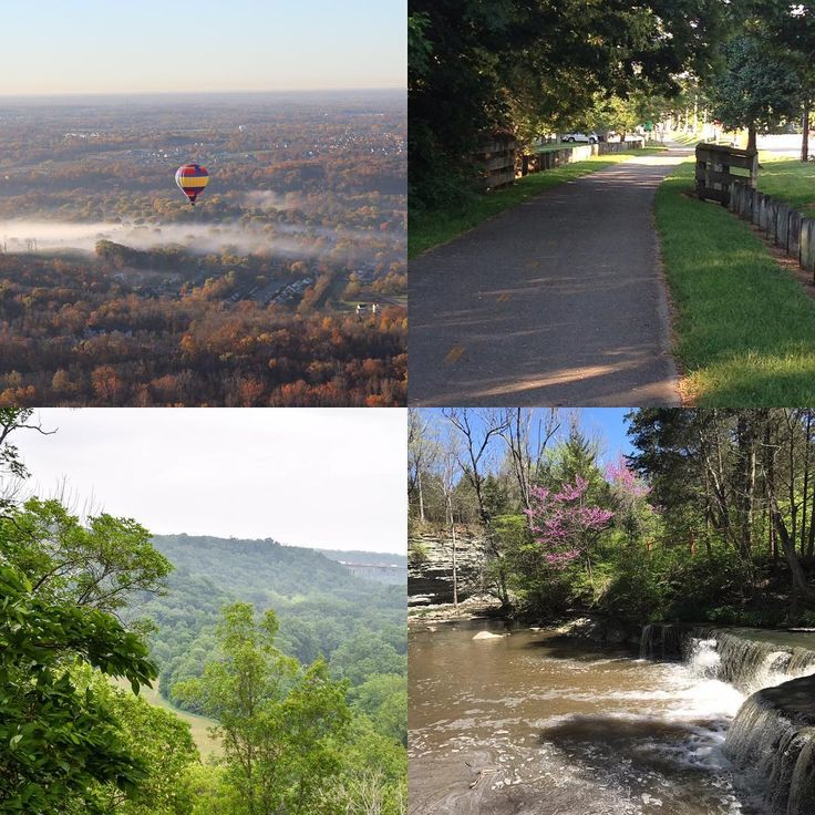 June is #GreatOutdoorsMonth! Here's just a small sampling of all the ways you can explore the outdoors in Ohio's Largest Playground®! Clockwise from top left: Gentle Breeze Hot Air Balloon Company Ltd, the Little Miami Scenic Bike Trail, Caesar Creek State Park, and Fort Ancient Earthworks & Nature Preserve!