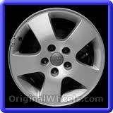 Audi A6 2001 Wheels & Rims Hollander #58731 #Audi #A6 #AudiA6 #2001 #Wheels #Rims #Stock #Factory #Original #OEM #OE #Steel #Alloy #Used