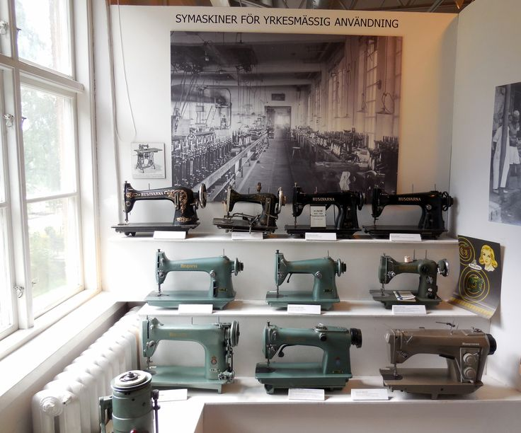 Sewing machines.
