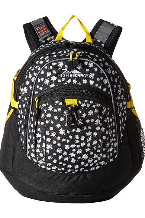 High Sierra BTS Fat Boy Backpack (Daisies/Black/Sunburst) Backpack Bags - High Sierra, BTS Fat Boy Backpack, 64020-4944, Bags and Luggage Backpack, Backpack, Bag, Bags and Luggage, Gift, - Street Fashion And Style Ideas