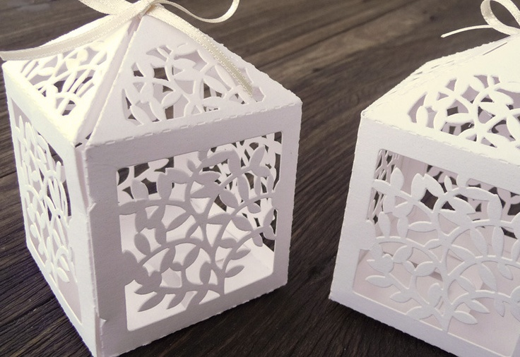 AboutLove - Gaiola de papel folhas - kit 10 unidades