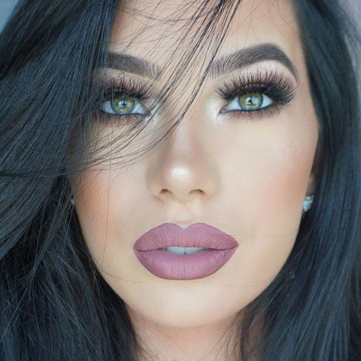 Anastasia Beverly Hills @anastasiabeverlyhills Liquid Lipstick in Veronica and Dusty Rose #lip #makeup #lipstick