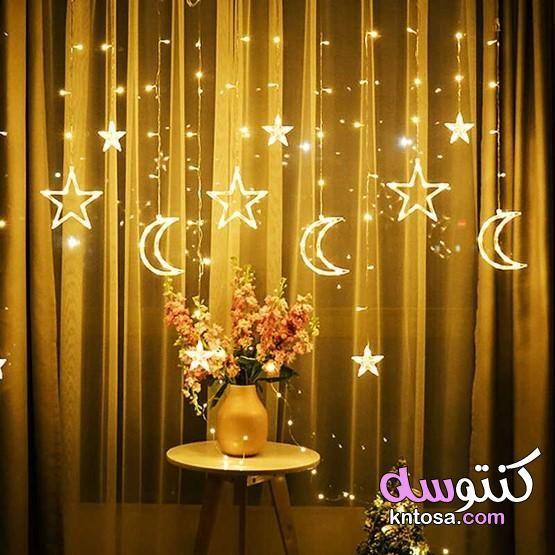 ستائر الورد المضيئة ستائر مضيئة للحفلات ستائر مضيئة للمنزل 2021 Fairy Lights Decor Fairy Lights Fairy Lights Bedroom