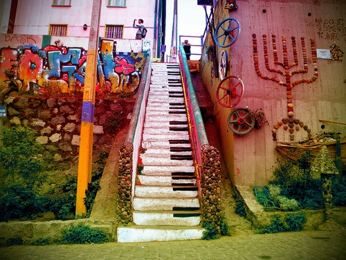 Love the menorah on the right side--- actually taken in Valparaíso, Chile!! :D #homeland