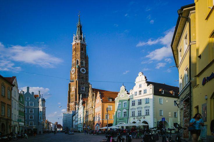 La Bavière, côté villes. Balade colorée sur les pavés de Ratisbonne, Passau et Landshut. Des jours, des nuits, dans le désordre - Carnet de voyage, blog