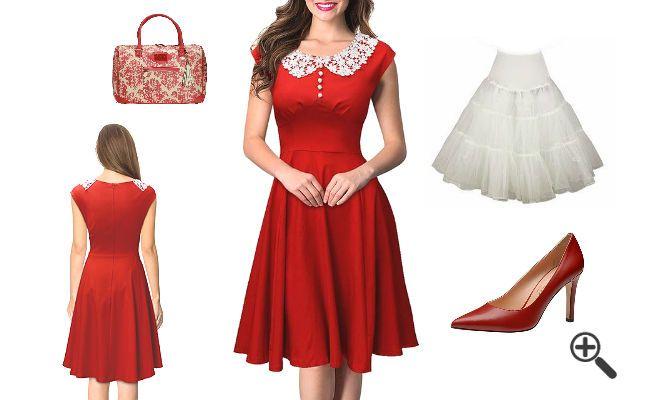 Sandra suchTe Kleider für Weihnachten... http://www.fancybeast.de/kleider-fuer-weihnachten-outfit-weihnachtsfeier/ #Kleider #Weihnachten #Outfit #Weihnachtsfeier #Dress #Petticoat #Fashion Outfit Weihnachtsfeier Kleider für Weihnachten