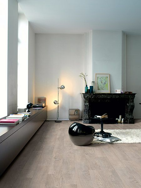 Quick Step Laminaat Classic Oude eik lichtgrijs LHD voor op onze zolder :)