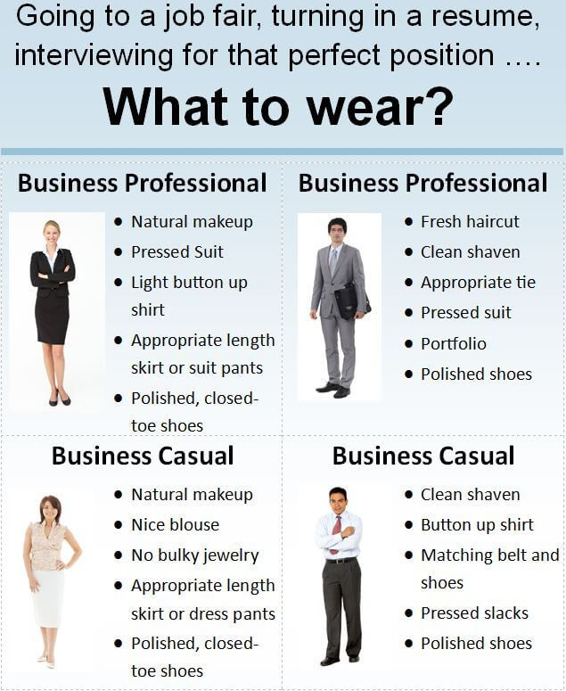 899b17233f9 Image result for smart business casual attire for career fairs ...