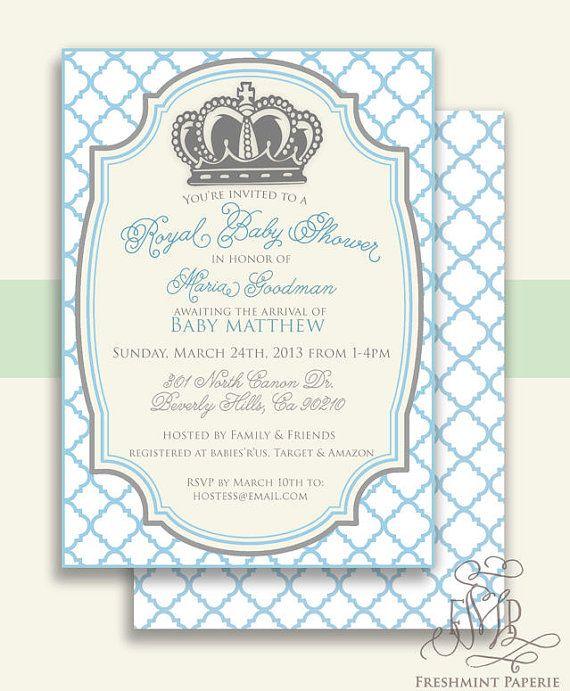 Printable Invitations Baby Shower