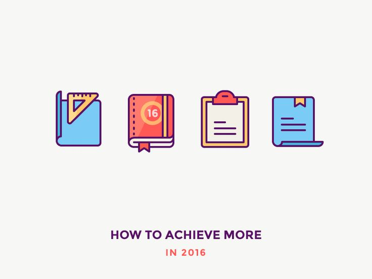 How to Achieve More by Justas Galaburda
