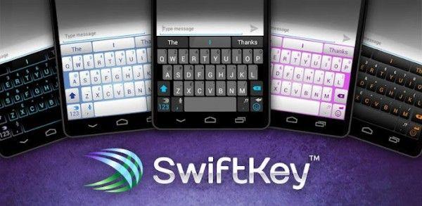 Dictado de voz para Android ICS y nuevos idiomas y temas, lo nuevo en SwiftKey