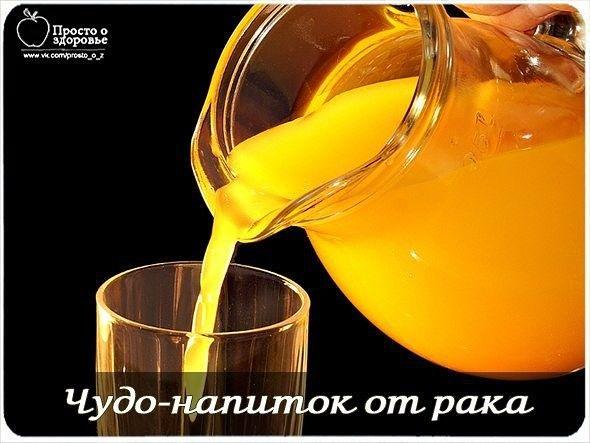 Чудо-напиток от рака | Самые вкусные рецепты