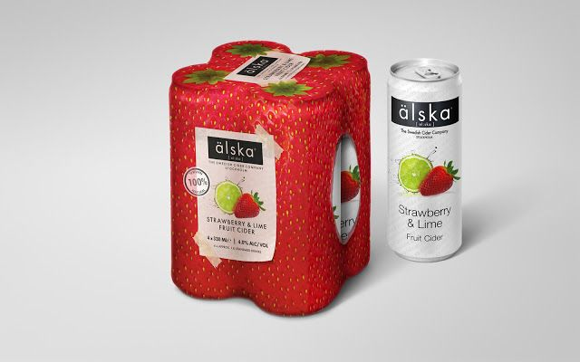 älska Cider on Packaging of the World - Creative Package Design Gallery