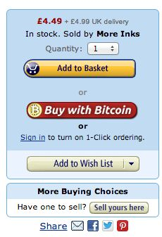 @All4btc - Shop anything, anywhere using #Bitcoin - Shop anything, anywhere using Bitcoin's Amazon Chrome Extension puts #Bitcoin Inside #Amazon