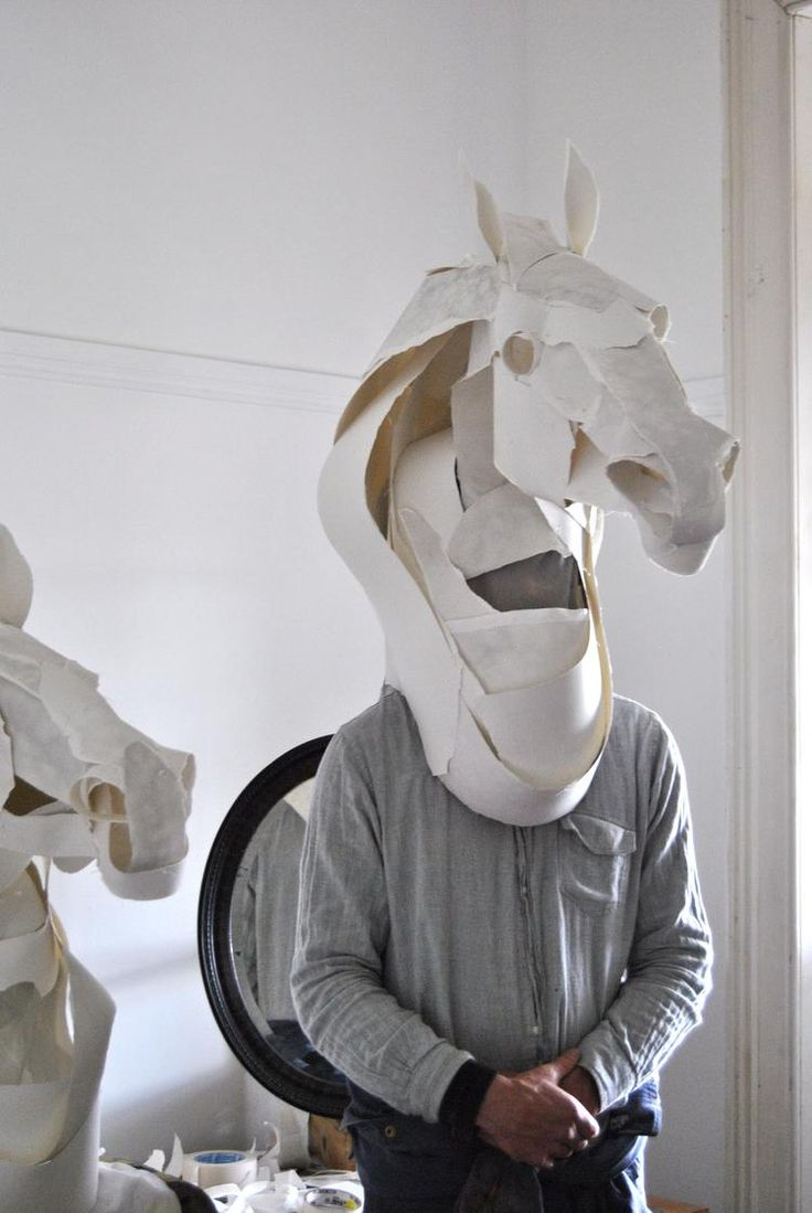 Anna Wili · Horse Mask for Hermes 2011