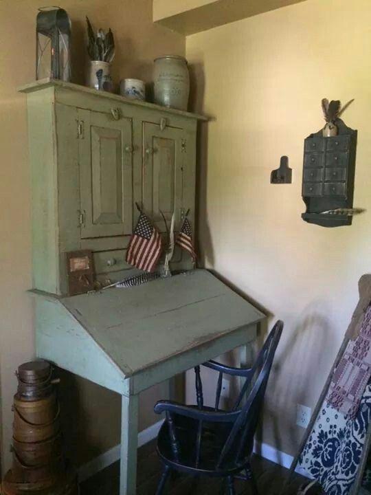 Plantation Desk~ | Antiques/Primitives | Pinterest