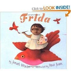 Children's story book about artist Frida Kahlo