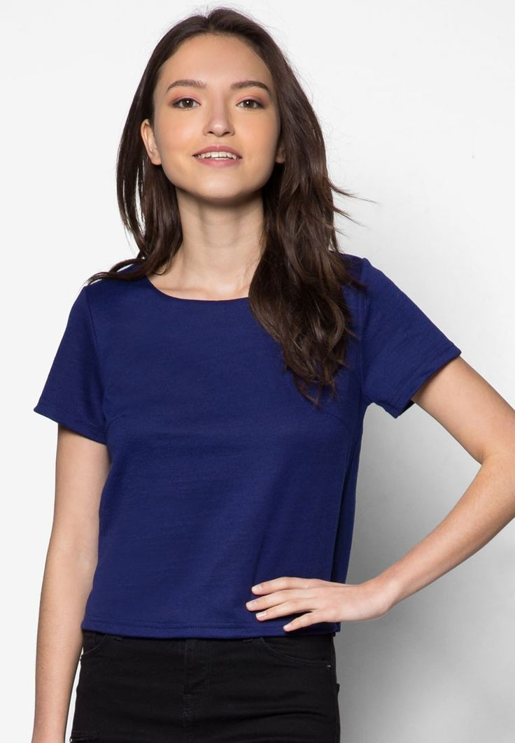 Buy Cats Whiskers Plain Short Sleeved Top Online | ZALORA Malaysia
