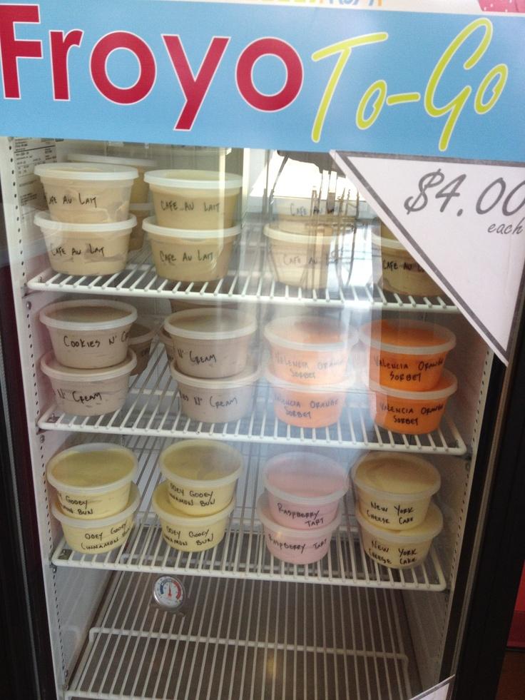 Zinga! Frozen Yogurt, The Arbors Shopping Center, Dallas Tx