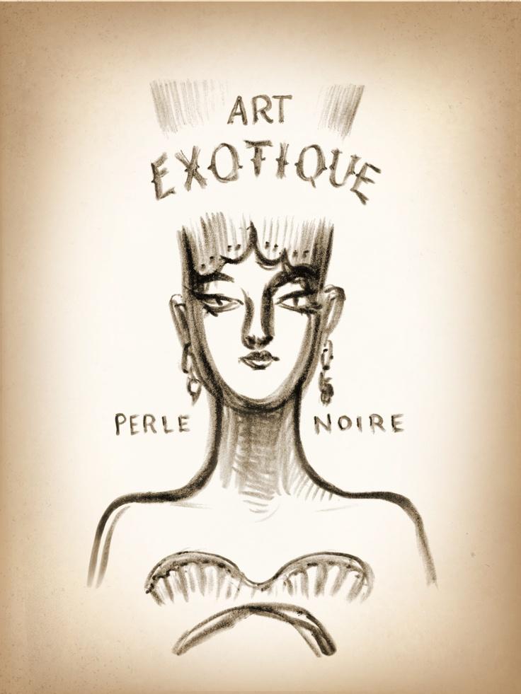La perle noire. @ Dédé - Andrea Ferolla