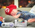 Boina em crochê Super Mario Bros.