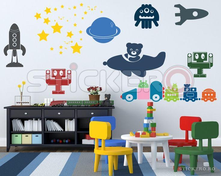 Sticker decorativ Decor pentru baieti