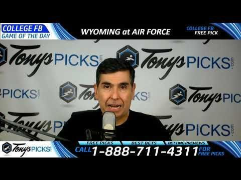 Wyoming Cowboys vs. Air Force Falcons Free NCAA Football Picks and Predi... https://www.fanprint.com/licenses/air-force-falcons?ref=5750 https://www.fanprint.com/licenses/akron-zips?ref=5750