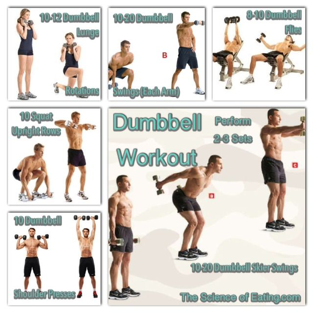 Building Using Only Dumbbell And Bodyweight Exercses