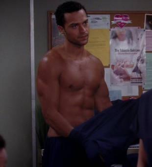 Video Still: Shirtless Jackson in Episode 3