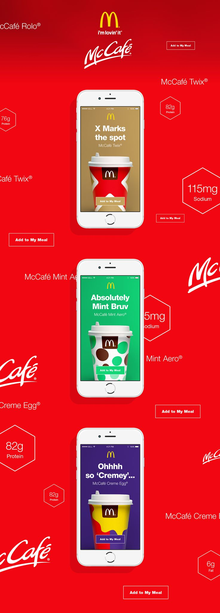 McDonald's // The Boys Are Back in Town on Behance