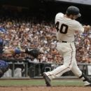 Bumgarner homers off Kershaw again but Dodgers win in 10th (Yahoo Sports)