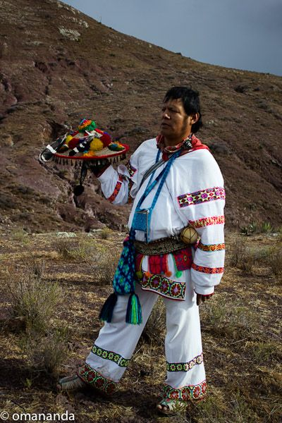 Wirikuta, February 2012 ~ El Chemado Huichol Ceremony