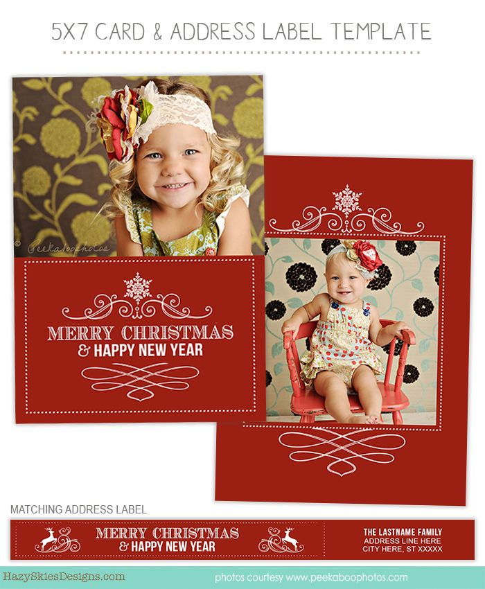 133 best Holiday Templates for Photographers images on Pinterest ...