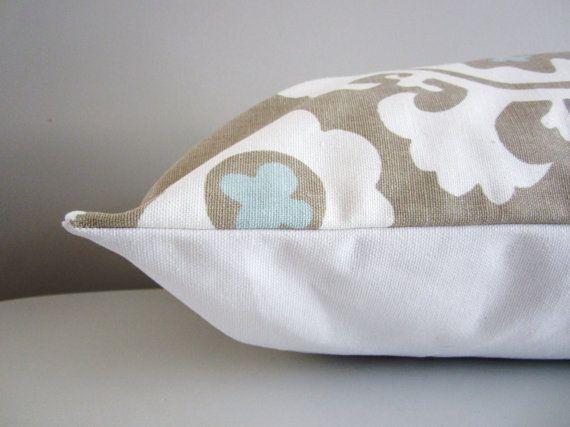 Modern Lumbar Pillow Neutral Pillow cover Decorative Pillow