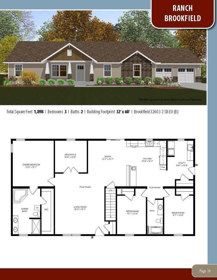 diy easy Modular home plans House blueprints Floor plans