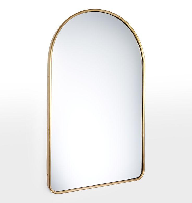 Arched bathroom mirror one inch drive sockets