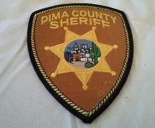 ARIZONA PIMA COUNTY SHERIFF PATCH