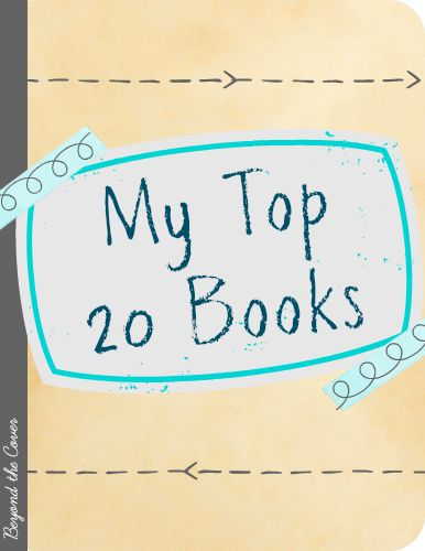 My Top 20 Books for Teen Girls | www.beyondthecoverblog.com