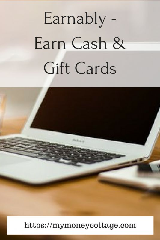Earnably - Earn Cash & Gift Cards - My Money Cottage