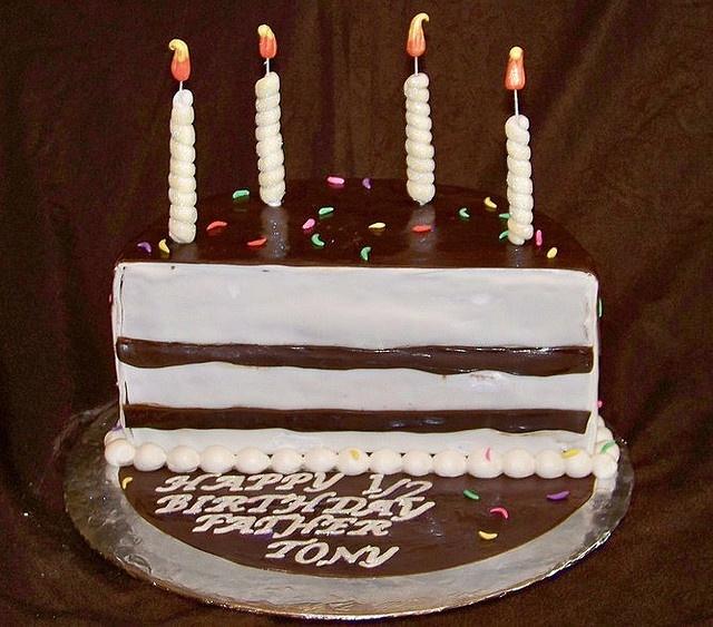 7 best Half cakes images on Pinterest Half birthday cakes