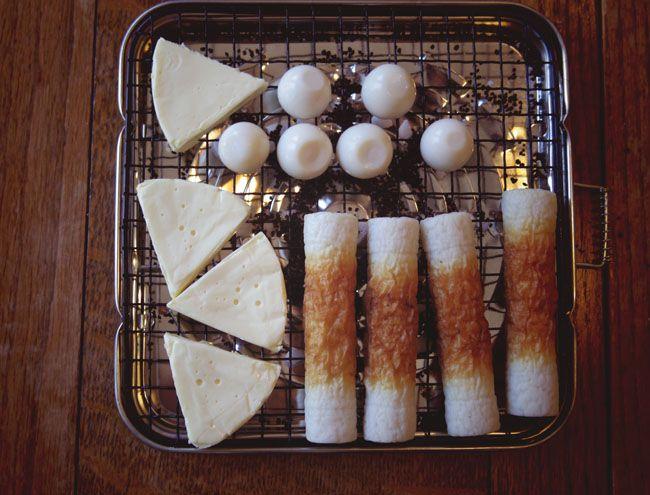 morsoアウトドアオーブンで「カンタン燻製」