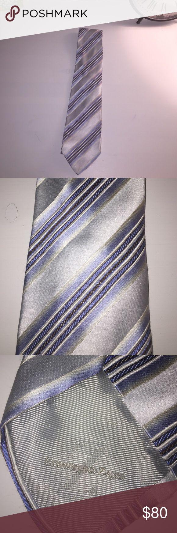 Ermenegildo Zegna Beautiful striped tie! Ermenegildo Zegna Accessories Ties