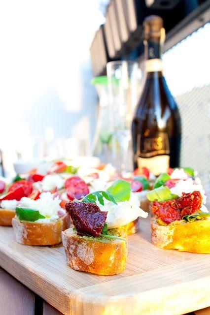 Cucinare con amore: Bruschette s vynikajícím Proseccem