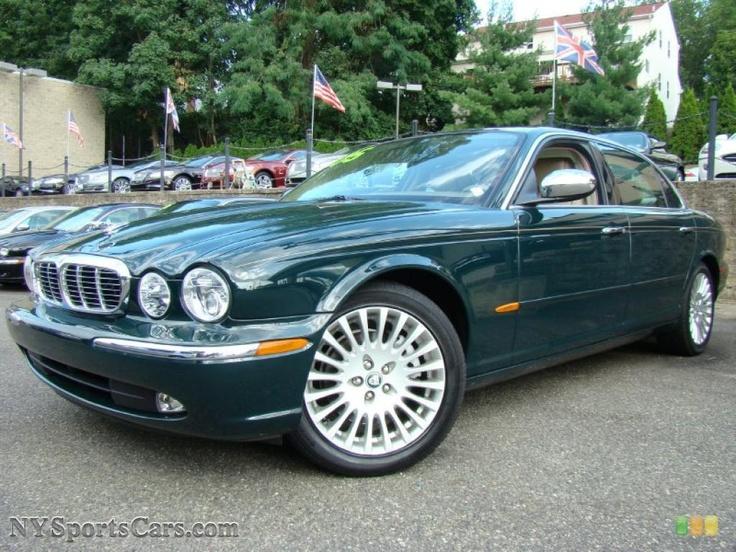 Jaguar Vanden Plas in British Racing Green....my dream car...preferably a vintage restored one...